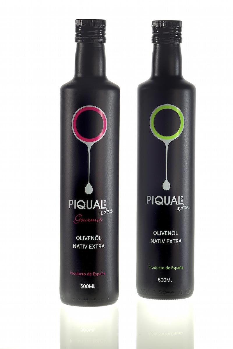 Piqualxtra Ölivenöl-Flasche